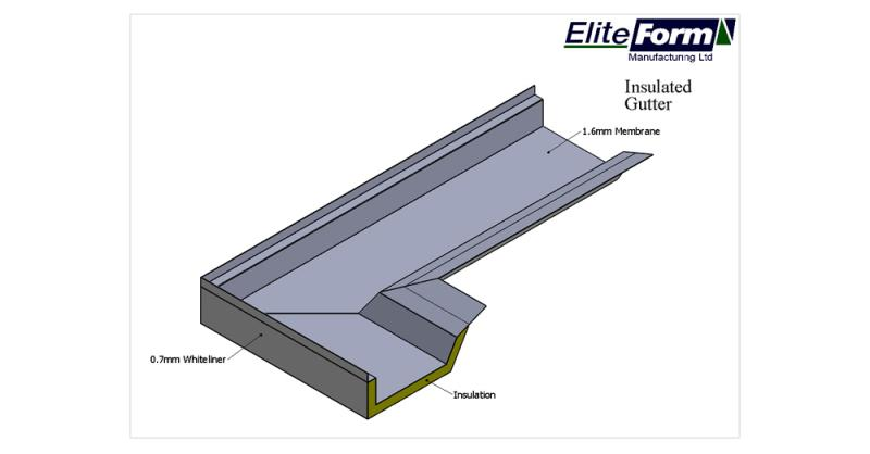 Engineering Ireland Membrane Insulated Gutters