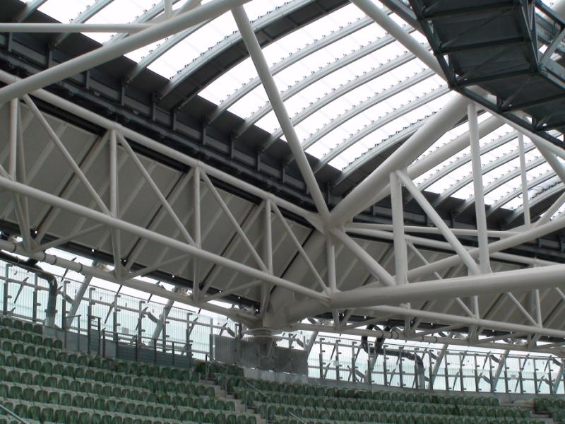 acoustic panels aviva stadium